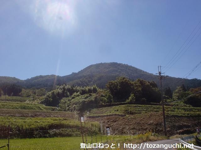 三草山の登山口 慈眼寺と才ノ神峠に路線バスでアクセスする方法