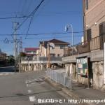 東ときわ台五丁目バス停(阪急バス)