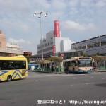 阪急茨木市駅西口バス停