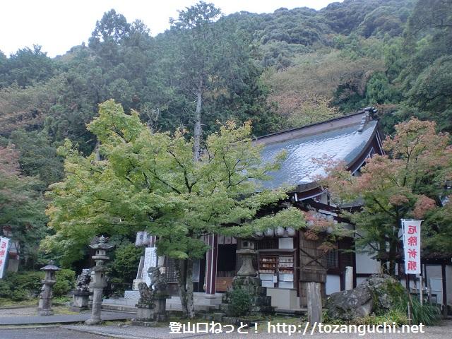 若山の登山口 若山神社にアクセスする方法(島本駅から歩く)