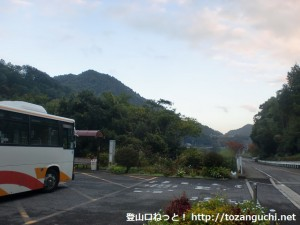 滝畑ダムバス停(南海バス)