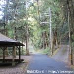 光滝寺の登り口