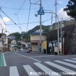 中日野バス停(南海バス)