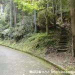 岩湧寺に向かう途中にあるすぎこだちの道の入口