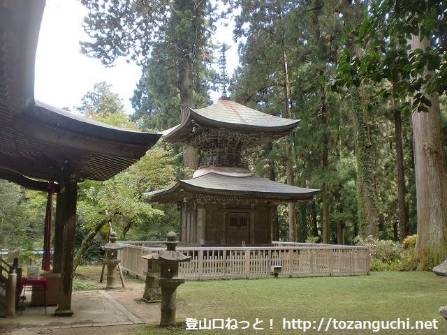 岩湧寺の多宝塔
