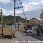 千早口駅前の車道
