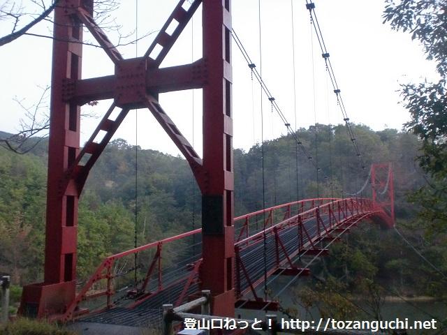 三石山の登山口 杉村公園の丸尾橋にアクセスする方法