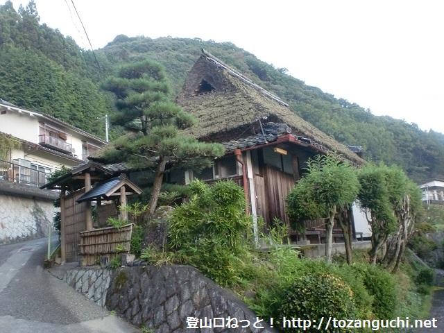 三石山の登山口 横尾辻と高山森林公園にアクセスする方法