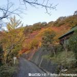 三石山に行く途中にある高山森林公園