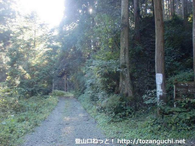 東條山の登山口 大住谷にアクセスする方法※小深バス停から歩く