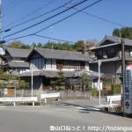 弘川寺の入口