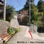 大和葛城山の天狗谷道に行く手前の分岐