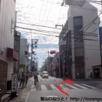 久米田駅前の交差点