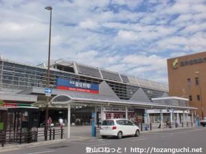 南海電鉄の泉佐野駅