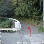 塔原の和泉葛城山登山口に行く途中