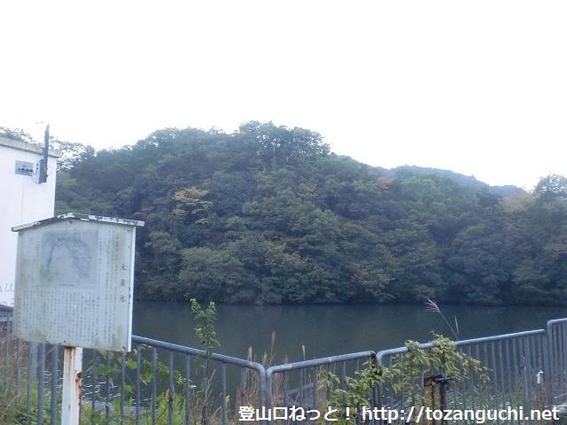 雨山の登山口 永楽池にアクセスする方法(浪商学園から歩く)