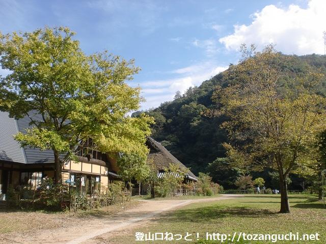 梵天(ボンデン)山の登山口 紀泉わいわい村にアクセスする方法
