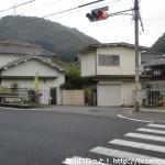 孝子駅前から孝子の森方面に行くところ