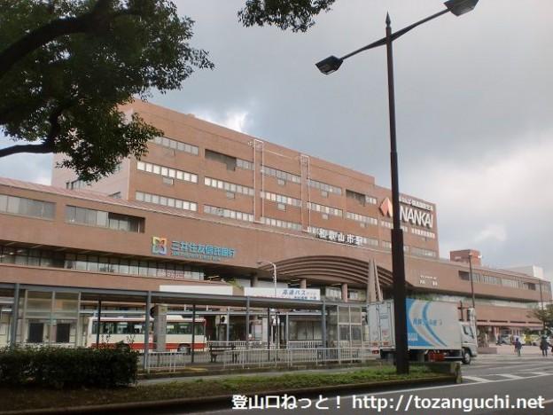 南海電鉄の和歌山市駅