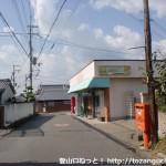 六十谷駅から岩神山の登山口に行く途中