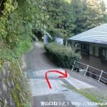 南海電鉄上古沢駅直下の辻ノ下の辻