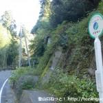 中田金山バス停(紀美野町コミュニティバス)