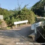 禅林寺(海南市)の先で橋を渡るところ