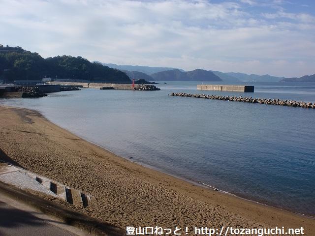 栖原海岸(湯浅町)