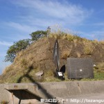 湯浅の端崎にある和歌山県朝日夕陽百選の碑前