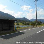 三尾登山口バス停(神姫バス)