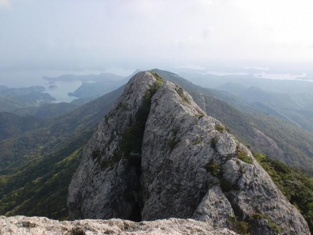 白嶽(洲藻白岳)山頂の画像