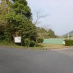 龍良山山裾自然公園の駐車場の画像