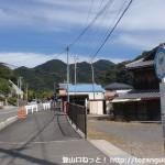 山野バス停(日高川町コミュニティバス)
