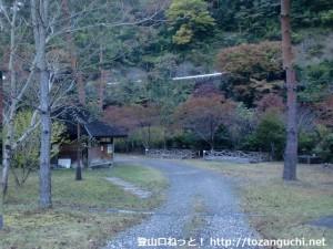 ヤマセミ温泉のキャンプ場