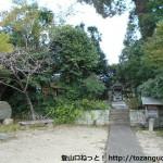 熊野古道の一ノ瀬王子跡