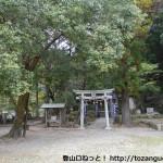熊野古道の滝尻王子