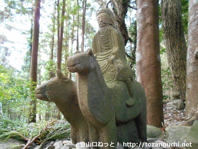 牛馬童子(熊野古道・中辺路)