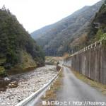 尾和田バス停からゴンニャク山の登山口に行く途中の林道