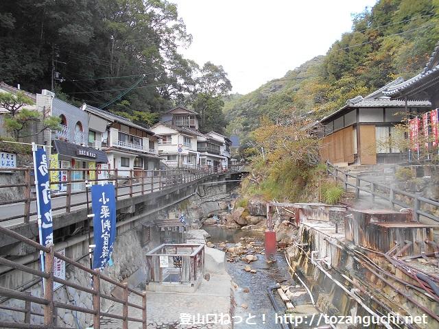 赤木越え(熊野古道)の登山口 湯の峰温泉にアクセスする方法