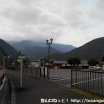 道の駅奥熊野バス停(龍神バス)