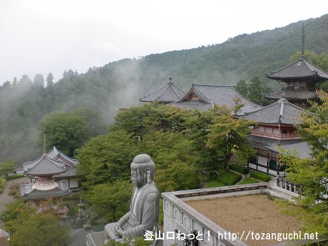 高取山(高取城跡)の登山口 壷阪寺にバスでアクセスする方法