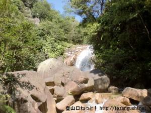 錦龍ノ滝(行者山登山口)