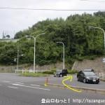 新井口駅北側の鈴ヶ峰公園に向かう交差点