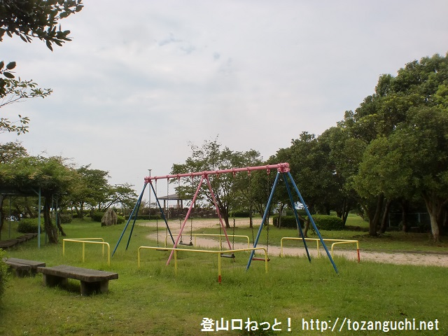 鈴ヶ峰の井口台中学前の登山口と鈴ヶ峰公園にアクセスする方法
