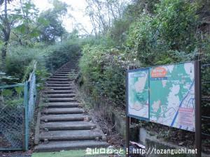 鈴ヶ峰の鈴ヶ峰公園側の登山口