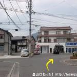 下祗園駅から武田山憩いの森に行く途中の住宅街
