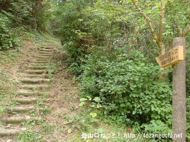 窓ヶ山の登山口 憩いの森(平治林道・奥畑)にアクセスする方法