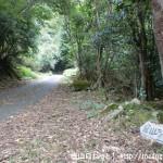 可部山の旧街道コース(石州街道)の登山道入口