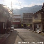 JR井原市駅前の車道