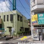 安芸中野駅前の広島信用金庫横の路地